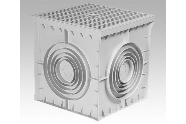 40X40X40 THERMOPLASTIC UNDERGROUND JUNCTION BOXES & MANHOLE COVERS